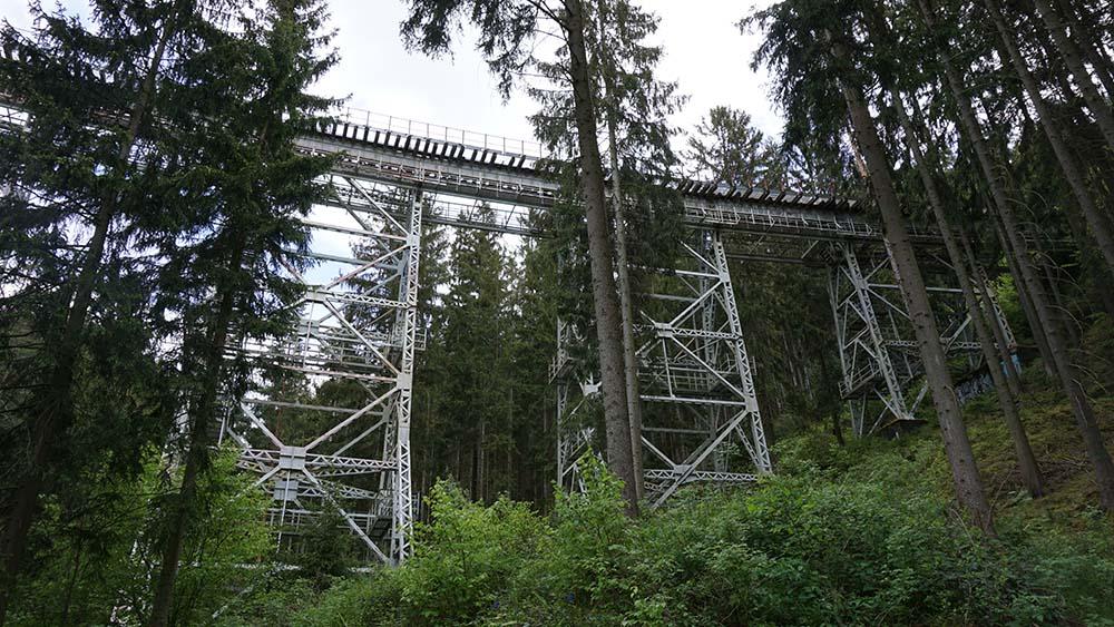 Ziemestalbrücke ist beliebt bei Besuchern