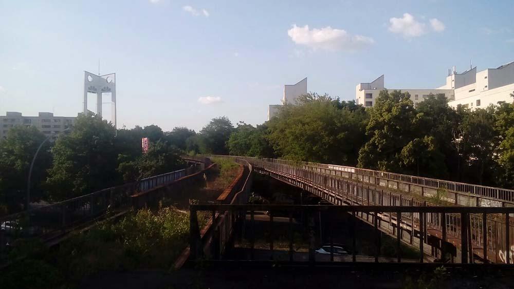 Stillgelegte Siemensbahn