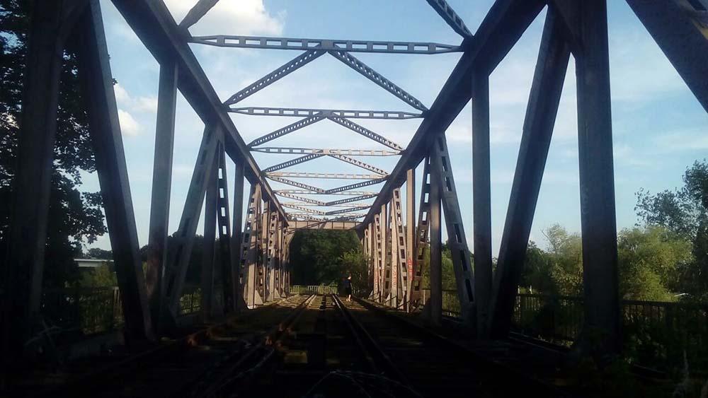 Spree-Brücke Siemensbahn