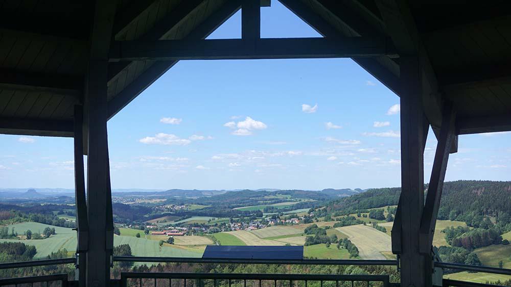 Blick vom Weifbergturm