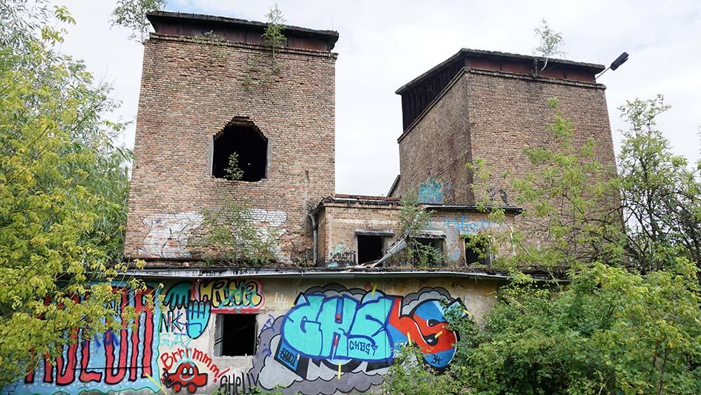 Vandalismus und Lost Place