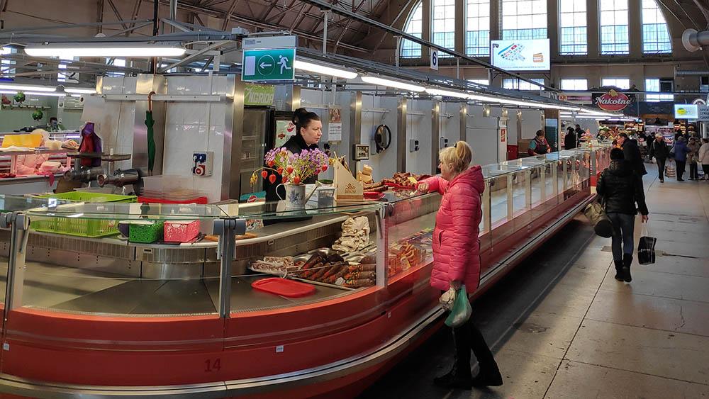 Im Zentralmarkt