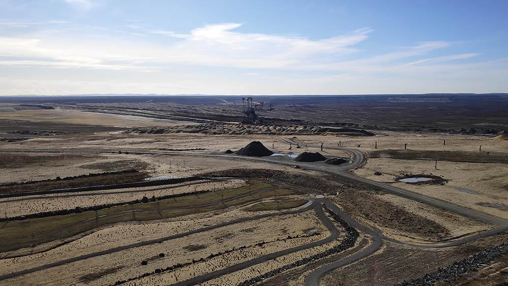 Rekultivierung des Tagebaus