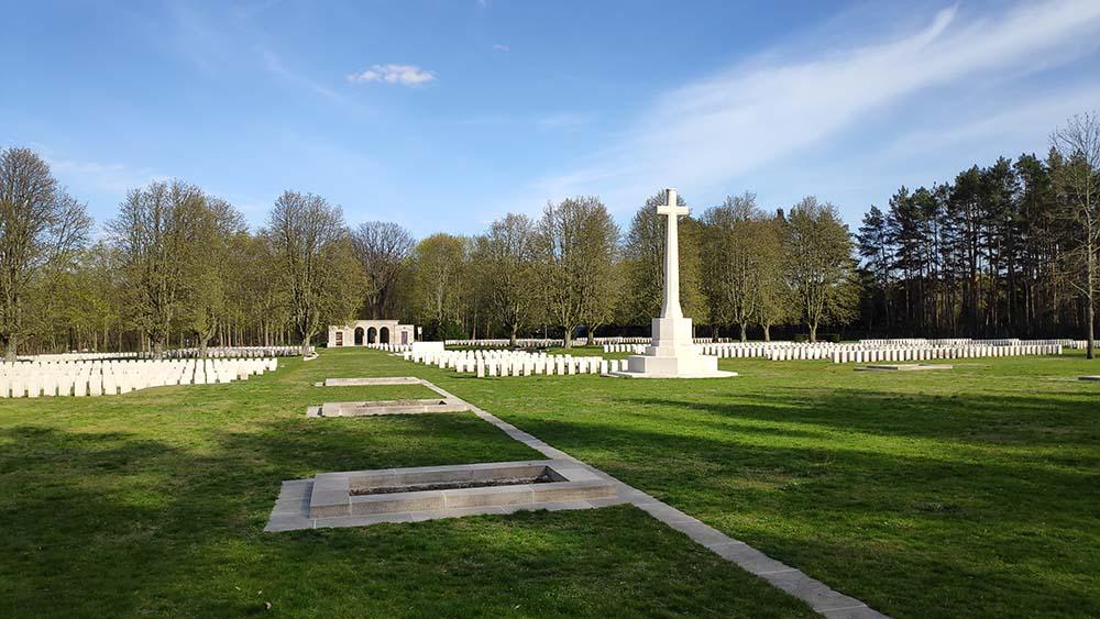 Britischer Soldatenfriedhof Berlin Heerstraße