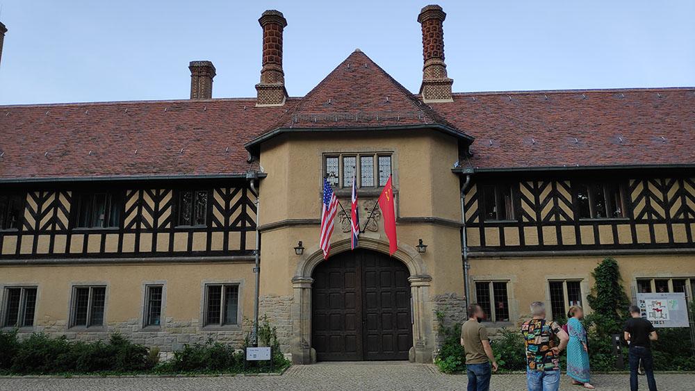 Schloss Cecilienhof.